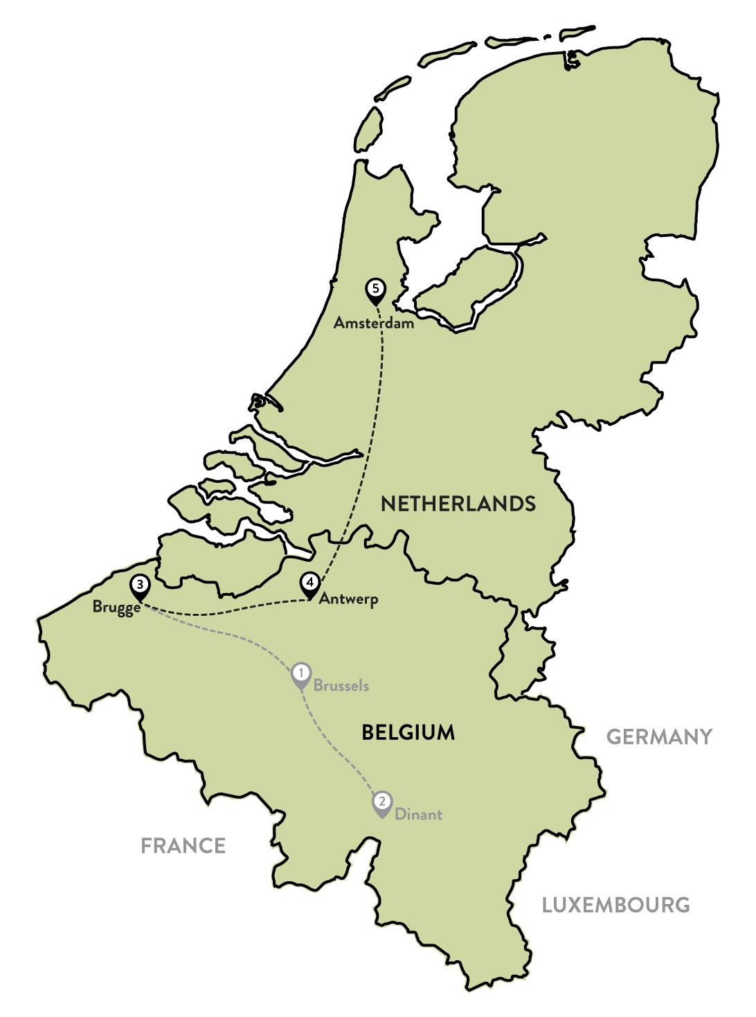 Belgium Part 2 Bruges Antwerp then onto the Netherlands Worth