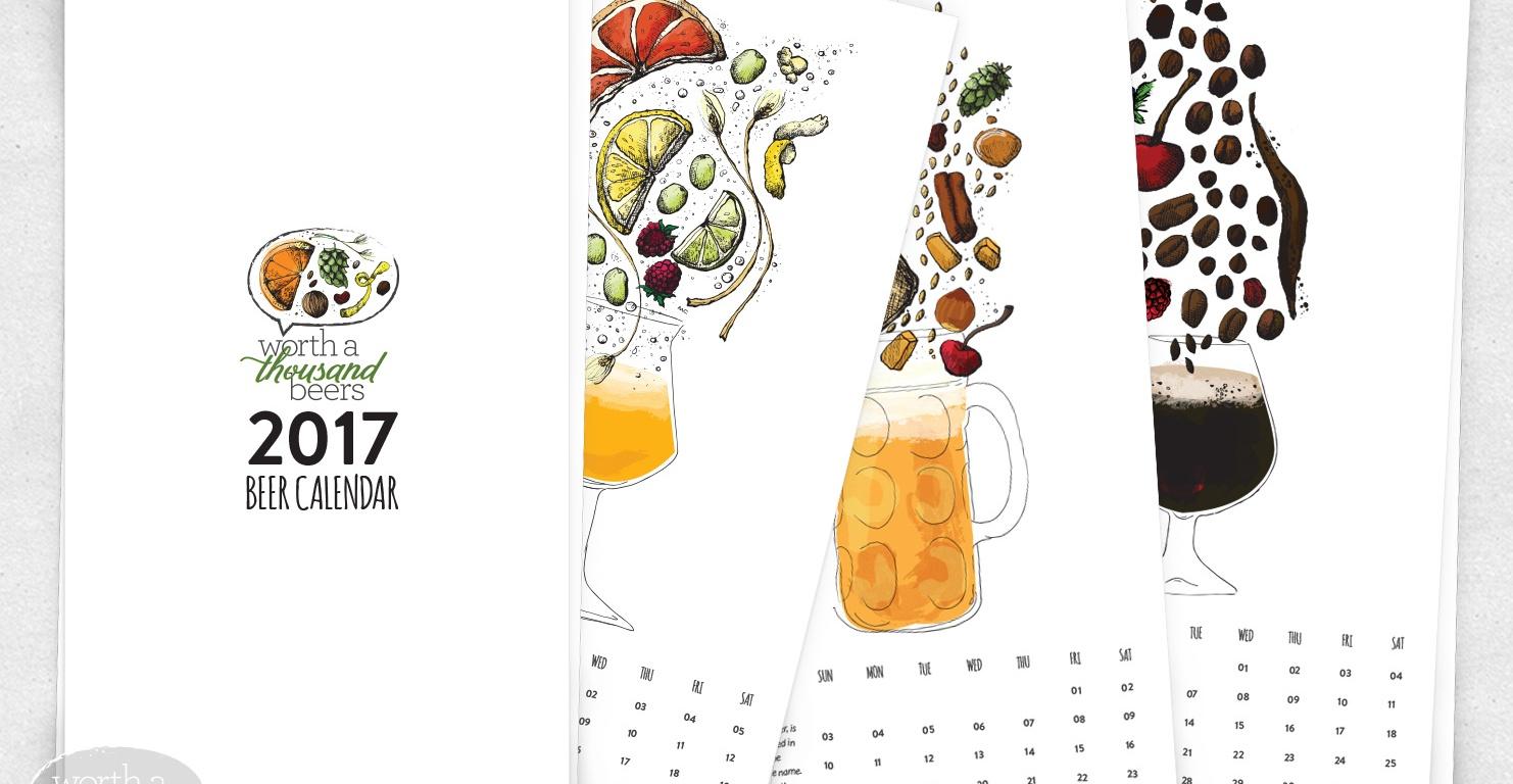 2017 Beer Calendar