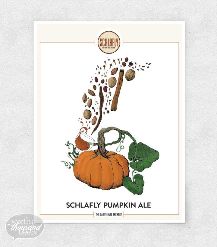 Schlafly Pumpkin Ale prints