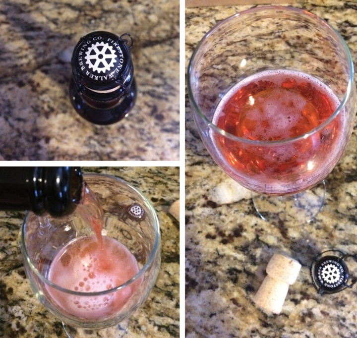 Bretta Rosé pours like a rose