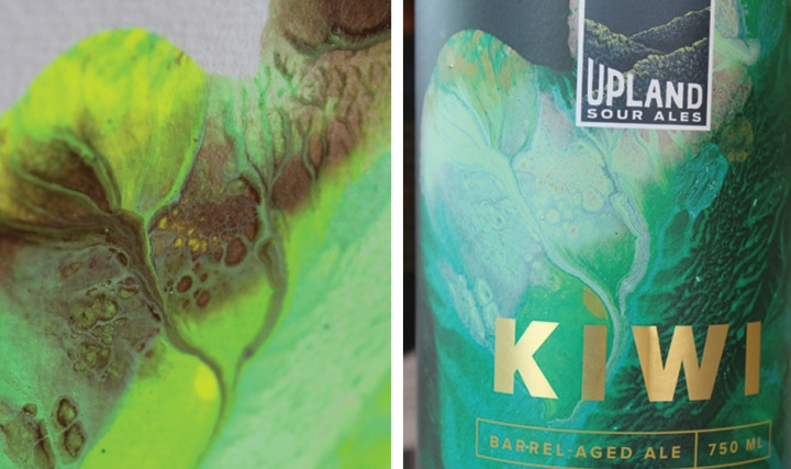 Kiwi Upland Sour Label